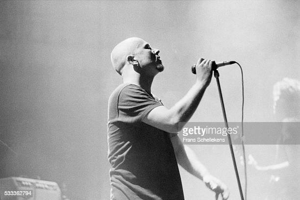 Scott Weiland vocal performs with the Stone Temple Pilots at the Paradiso on November 1st 1994 in Amsterdam the Netherlands