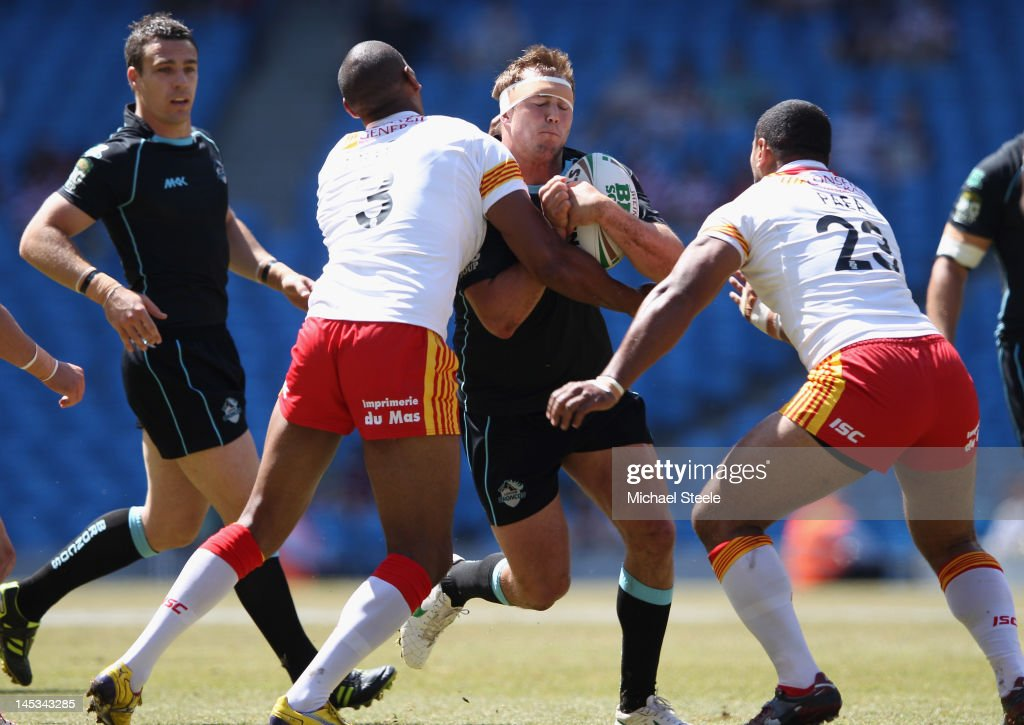 Catalan Dragons v London Broncos - Magic Weekend : News Photo