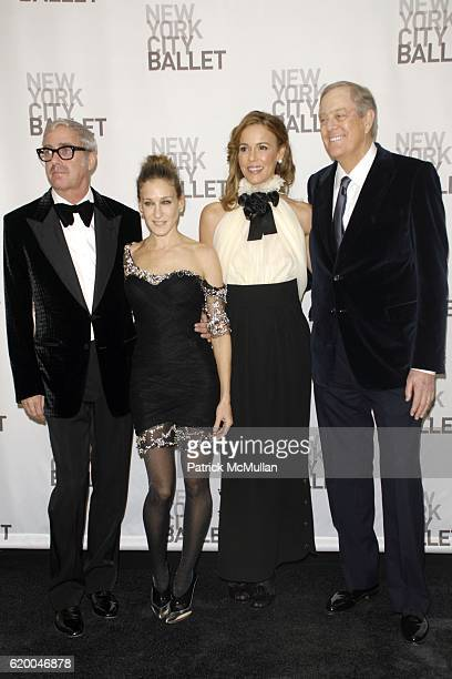 Scott Whitman Sarah Jessica Parker David Koch and Julia Koch attend NEW YORK CITY BALLET 2008 Opening Night Cocktail Reception at David H Koch...