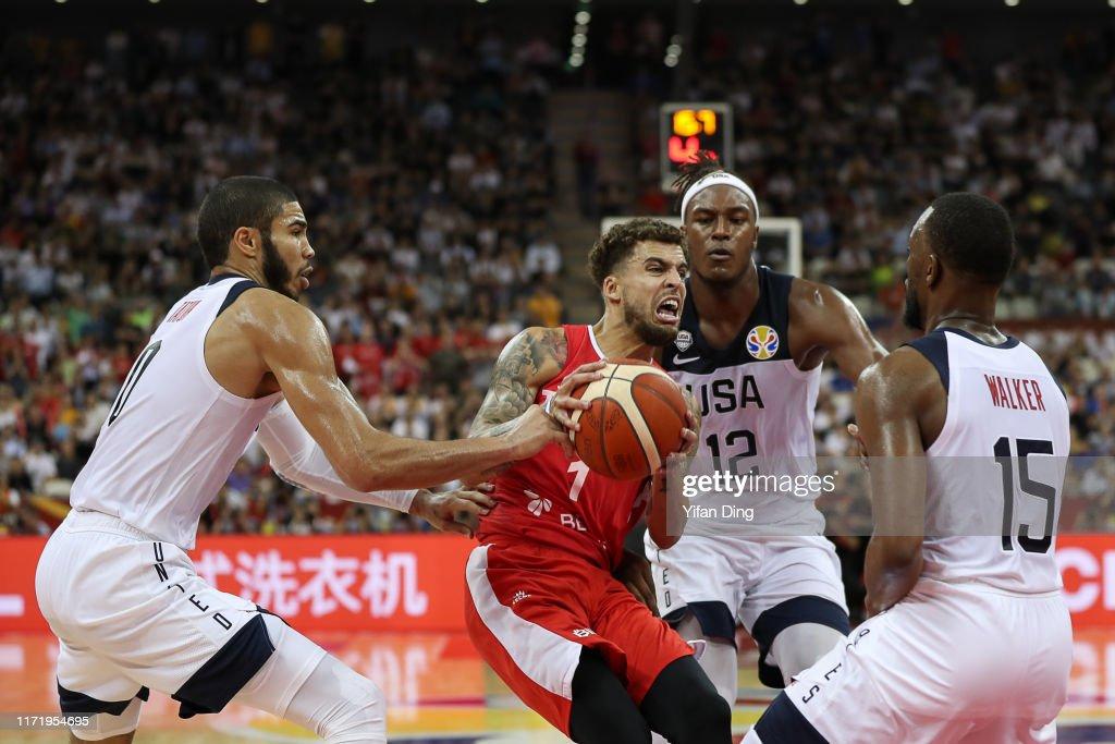 USA v Turkey: Group E - FIBA World Cup 2019 : News Photo
