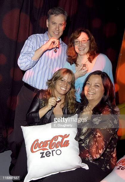 Scott Williamson Coca Cola Director of Communications Christine Holland Brand Director Coca Cola Zero Heather Krug of Rogers and Cowan and Margaret...