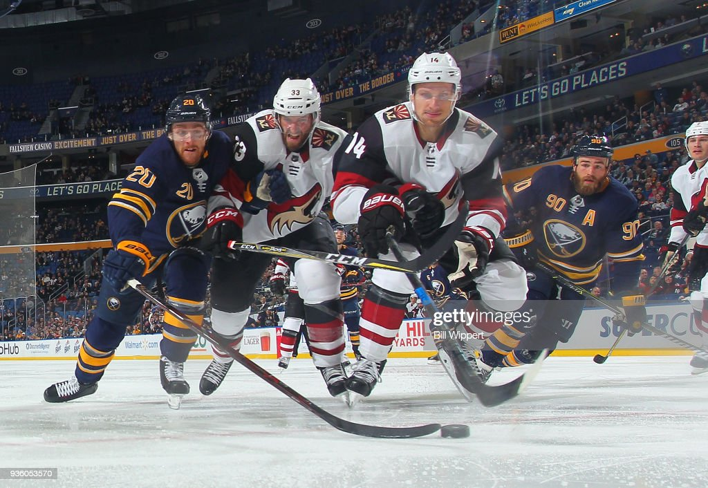 Arizona Coyotes v Buffalo Sabres