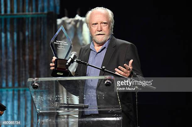 """Scott Wilson speaks onstage at AMC's """"The Walking Dead"""" season 6 fan premiere event at Madison Square Garden on October 9, 2015 in New York City."""
