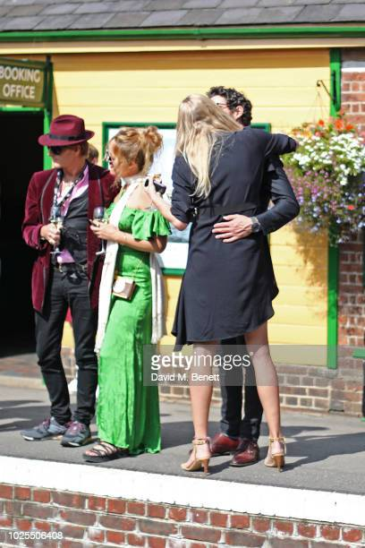 Scott Wimsett Alice Temperley Joseph Bates and Jodie Kidd attend KRUG Encounters Tracks on Tracks curated by Jools Holland on August 31 2018 in...