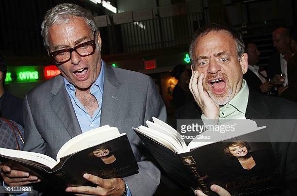 Scott Wittman and Marc Shaiman atends the Patti LuPone A Memoir Book Launch Party at Vivian Beaumont Theatre at Lincoln Center on September 14 2010...