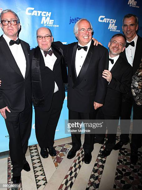 Scott Wittman, Jack O'Brien, Frank Abagnale Jr. Marc Shaiman & Jerry Mitchell attending the Broadway Opening Night After Party for 'Catch Me If You...