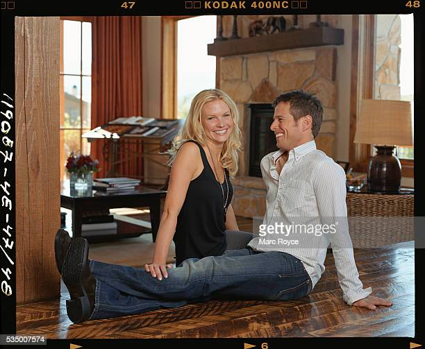 Scott Wolf and his wife Kelley Limp in thier Utah home