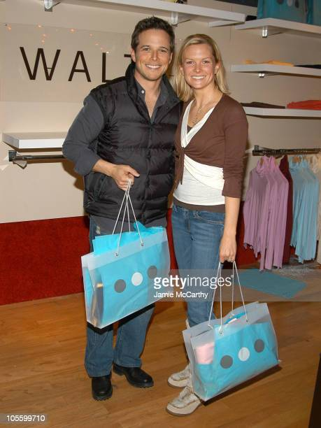 Scott Wolf and Kelley Limp in Village at the Lift during 2005 Park City Village at the Lift in Park City Utah United States
