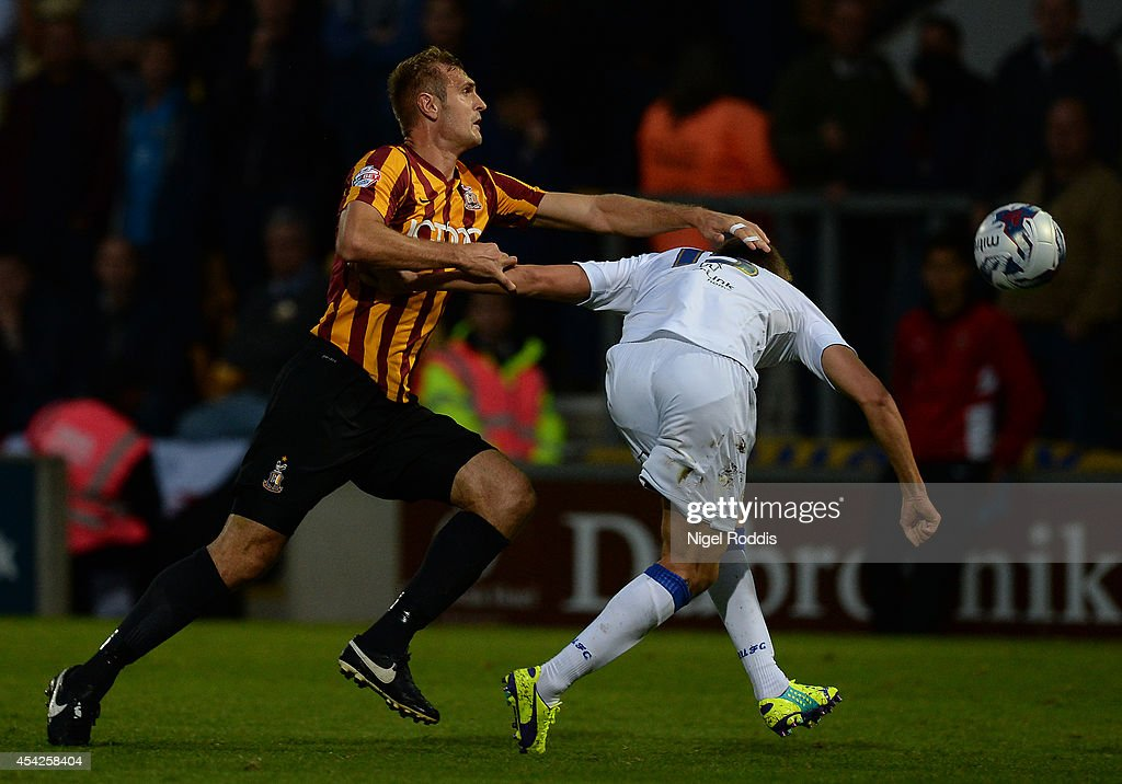 Bradford City v Leeds United - Capital One Cup Second Round