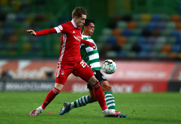 PRT: Sporting CP v Aberdeen: UEFA Europa League Third Qualifying Round