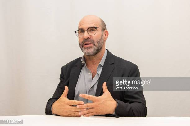 Scott Z Burns at The Report Press Conference at the Four Seasons Hotel on October 16 2019 in Beverly Hills California