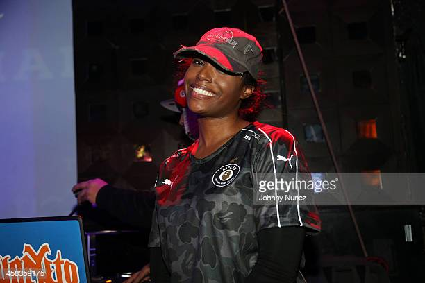 Scottie Beam attends Hot 97 Who's Next at SOB's on January 28 in New York City