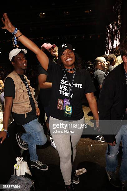 Scottie Beam attends Hot 97's Summer Jam 2016 at MetLife Stadium on June 5 2016 in East Rutherford New Jersey