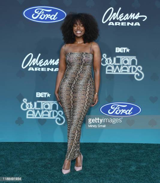 Scottie Beam attends the 2019 Soul Train Awards at the Orleans Arena on November 17 2019 in Las Vegas Nevada