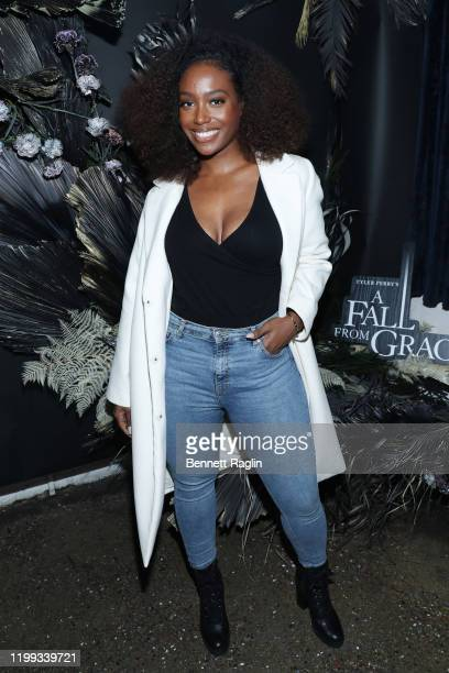 Scottie Beam attends the Netflix Premiere for Tyler Perry's A Fall From Grace at Metrograph on January 13 2020 in New York City