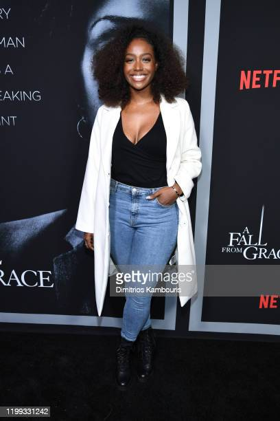 Scottie Beam attends the premiere of Tyler Perry's A Fall From Grace at Metrograph on January 13 2020 in New York City