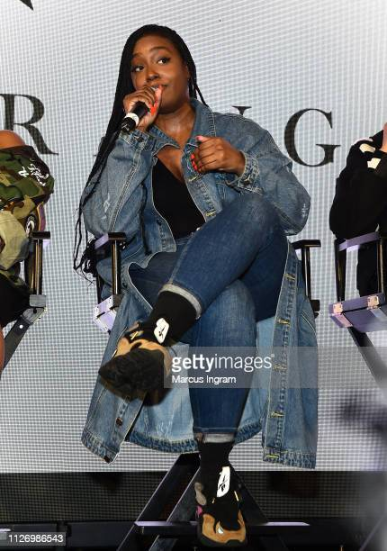 Scottie Beam speaks onstage at House Of BET An Immersive Experience on February 02 2019 in Atlanta City