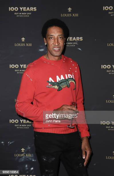 Scottie Pippen attends the LOUIS XIII Celebration of 100 Years Miami on March 28 2018 in Miami Florida