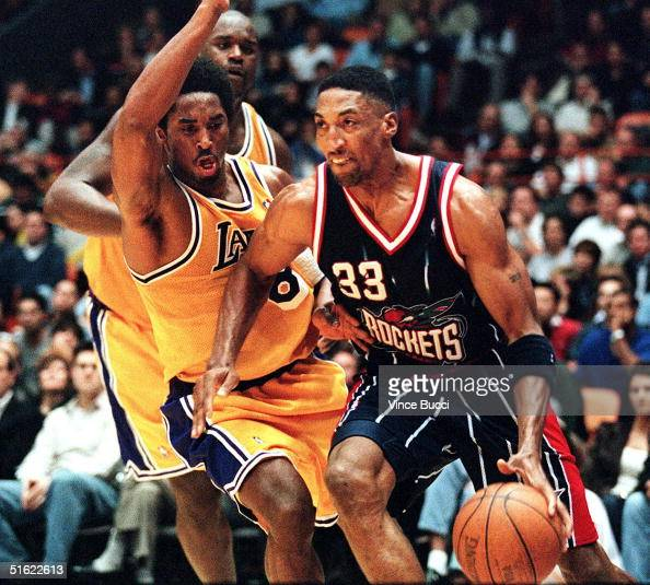 Houston Rockets News Today: Scottie Pippen Of The Houston Rockets Drives To The Basket