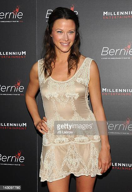 Scottie Thompson arrives at 'Bernie' Premiere held at ArcLight Cinemas on April 18 2012 in Hollywood California
