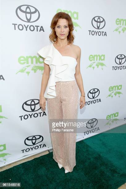 Scottie Thompson attends the 28th Annual Environmental Media Awards at Montage Beverly Hills on May 22 2018 in Beverly Hills California