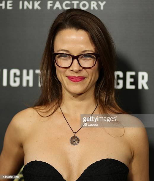 Scottie Thompson attends the premiere of AMC's 'The Night Manager' at the DGA Theatre on April 5 2016 in Los Angeles California