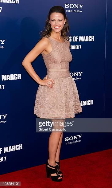 Scottie Thompson attends the premiere of The Ides of March at the Ziegfeld Theater on October 5 2011 in New York City