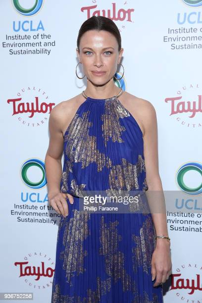 Scottie Thompson attends UCLA's 2018 Institute of the Environment and Sustainability Gala on March 22 2018 in Beverly Hills California