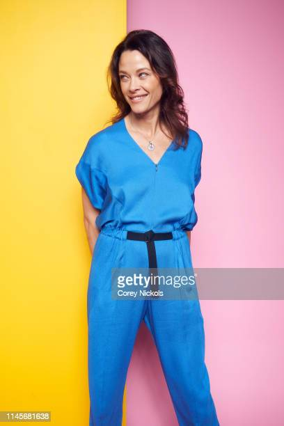 Scottie Thompson of the film 'Crown Vic' poses for a portrait during the 2019 Tribeca Film Festival at Spring Studio on April 27 2019 in New York City