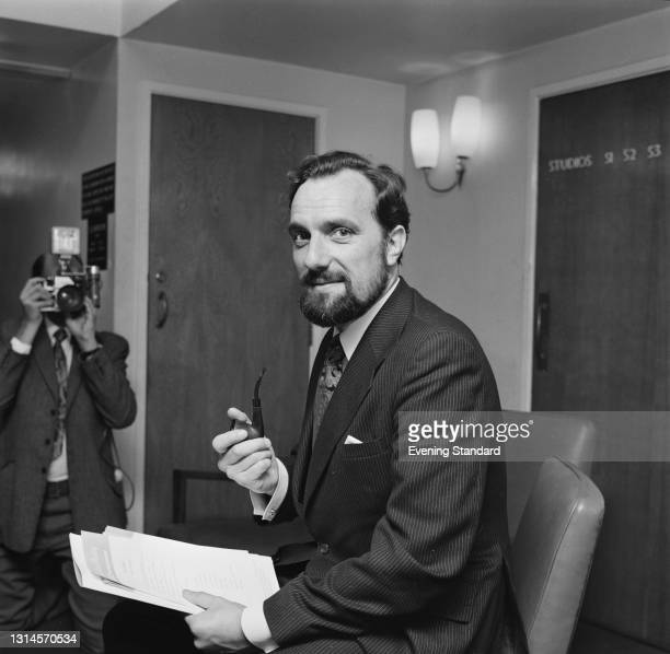 Scottish actor and BBC commentator Tom Fleming in London, UK, 1st October 1973.