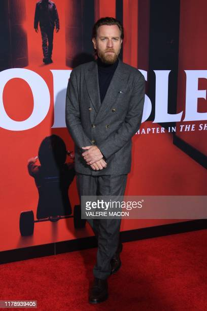 Scottish actor Ewan McGregor attends the US premiere of Warner Bros Pictures' Doctor Sleep in Los Angeles on October 29 2019