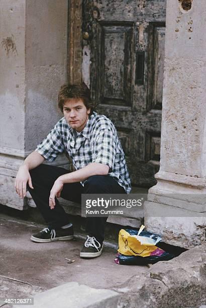 Scottish actor Ewan McGregor circa 1995