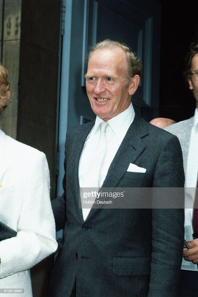 Gordon Jackson, 1985 : News Photo