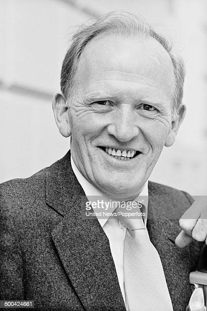 Scottish actor Gordon Jackson posed in London on 25th April 1984