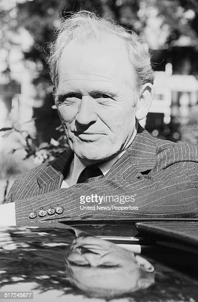 Scottish actor Gordon Jackson who plays George Crowley in the television drama series The Professionals posed in London on 2nd September 1980