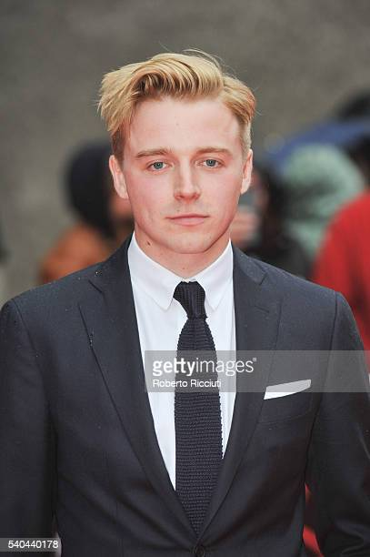 Scottish actor Jack Lowden attends the screening of Tommy's Honour and opening gala of the Edinburgh International Film Festival at Edinburgh...