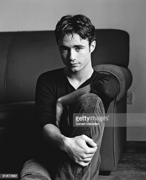 Scottish actor Joe McFadden poses for a portrait shoot in London 23rd March 2000