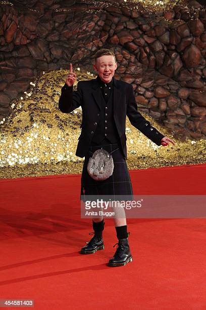Scottish actor John Bell attends the 'The Hobbit The Desolation of Smaug' European Premiere at Cinestar on December 9 2013 in Berlin Germany