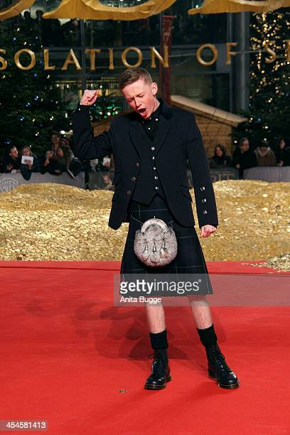 """Scottish actor John Bell attends the """"The Hobbit: The Desolation of Smaug"""" European Premiere at Cinestar on December 9, 2013 in Berlin, Germany."""