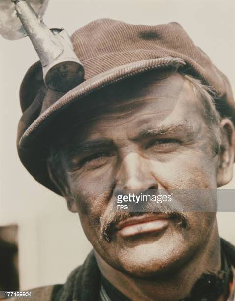 Scottish actor Sean Connery as in Irish emigrant miner in the film 'The Molly Maguires' 1970
