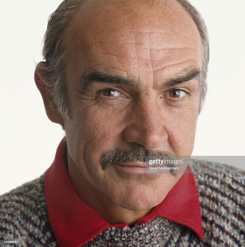 Scottish actor Sean Connery, circa 1985.