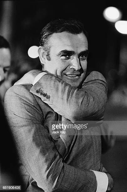 Scottish actor Sean Connery in Amsterdam on a location shoot for the latest James Bond film, 'Diamonds are Forever', 4th July 1971.