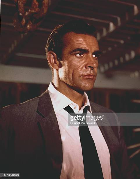 Scottish actor Sean Connery plays the leading role in director Terence Young's 1962 James Bond movie Dr No known in French as James Bond Contre le...