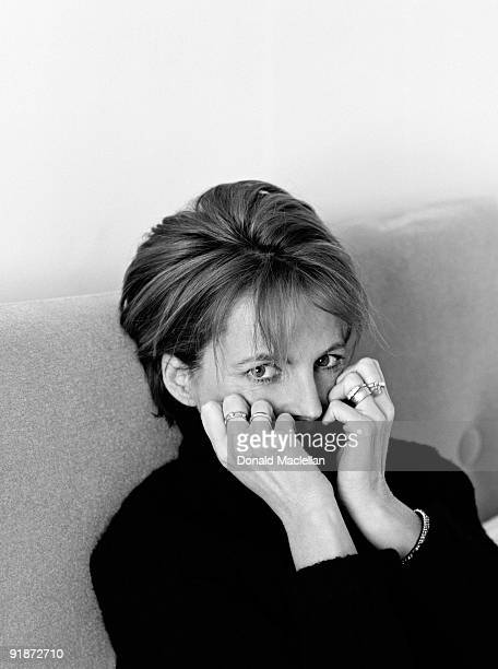 Scottish actress and singer Clare Grogan poses for a portrait shoot in Edinburgh 11th February 2000