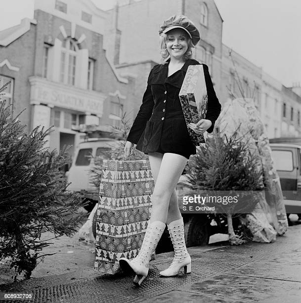 Scottish actress and television presenter Anne Aston UK 15th December 1971