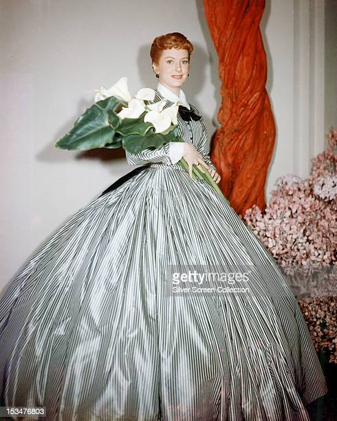 Scottish actress Deborah Kerr as Anna Leonowens in 'The King And I', directed by Walter Lang, 1956.