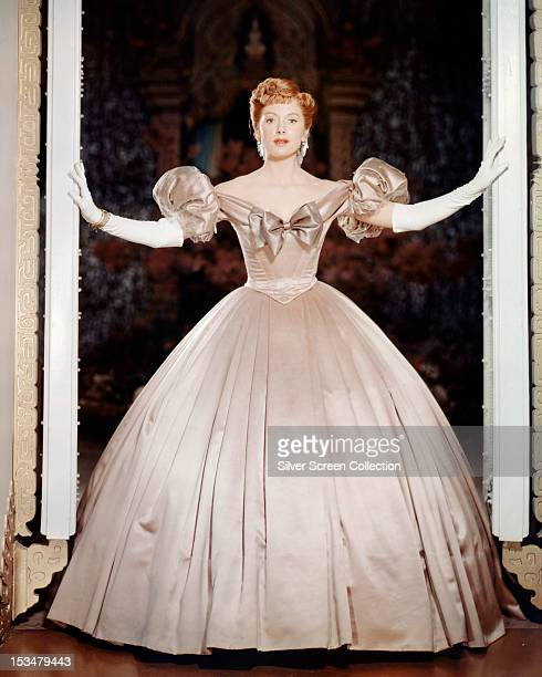 Scottish actress Deborah Kerr as Anna Leonowens in 'The King And I' directed by Walter Lang 1956