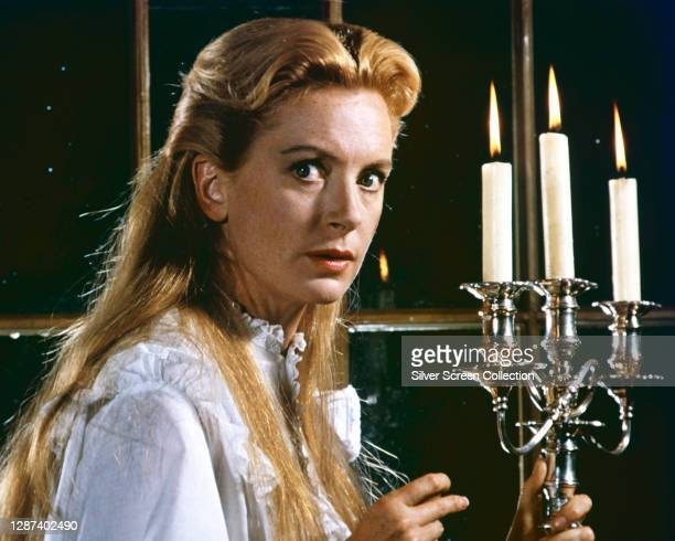 Scottish actress Deborah Kerr as governess Miss Giddens in the psychological horror film 'The Innocents', based on the novella 'The Turn of the...