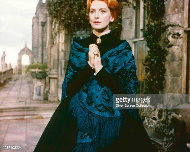 Scottish actress Deborah Kerr as governess Miss Giddens in the psychological horror film 'The Innocents', based on 'The Turn of the Screw' by Henry...