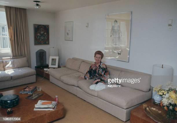 Scottish actress Deborah Kerr circa 1980
